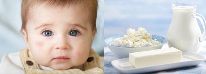 Ребенок и молочные продукты