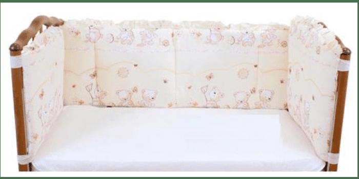 Комплект детского постельного белья для девочки Мотылек
