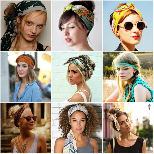 Как носить модные аксессуары на голове