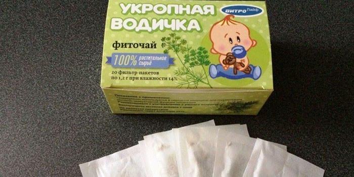 Фиточай Укропная водичка в пакетиках