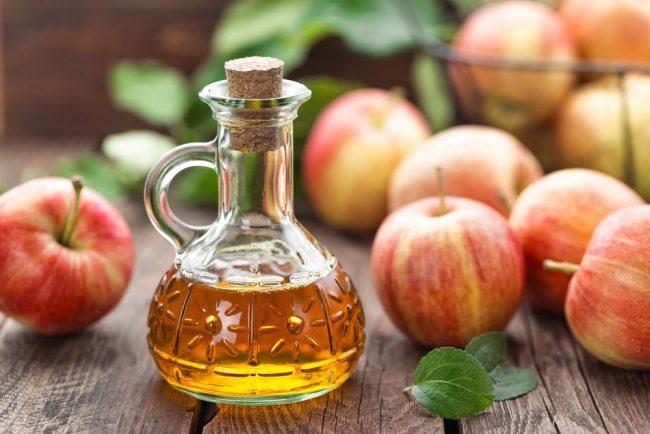 Яблочный уксус для лечения ожогов