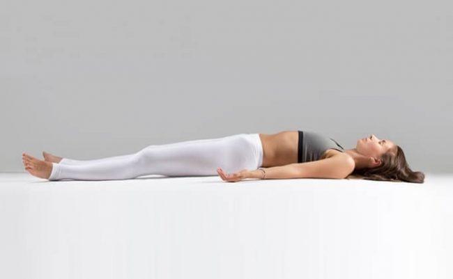 Последовательное напряжение и расслабление мышц