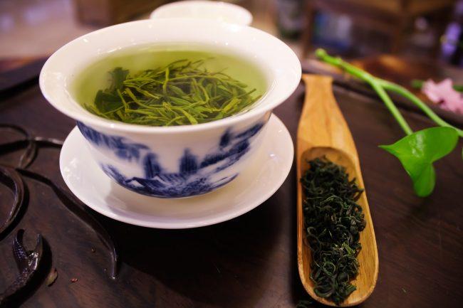 Зеленый чай от ожогов