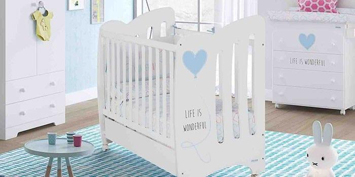 Кроватка-трансформер для двойни Micuna Wonderful
