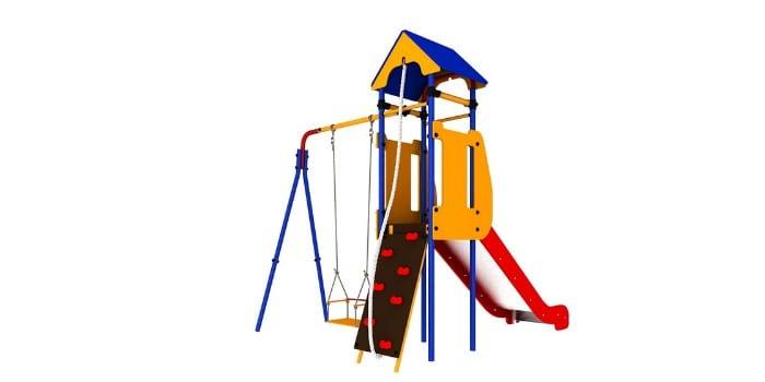 Игровой комплекс для детей Карусель Теремок