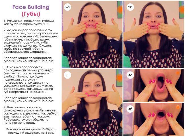 Уменьшение морщин вокруг рта