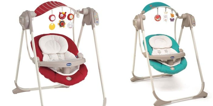 Электронные качели Chicco Polly Swing Up