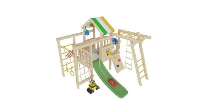 Детский деревянный игровой комплекс Валли
