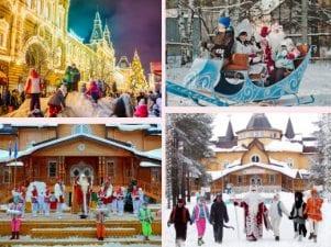 5 лучших новогодних путешествий с детьми по России