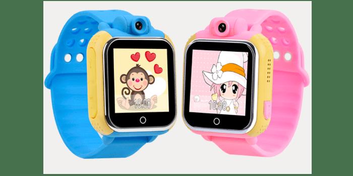 Умные детские наручные часы с камерой Tiroki Q66