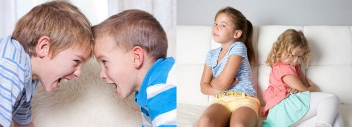 Два мальчика и две девочки