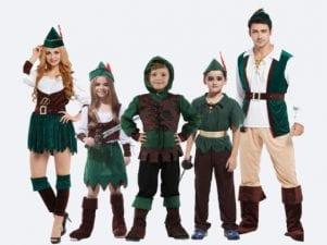 10 карнавальных костюмов на новый год для всей семьи
