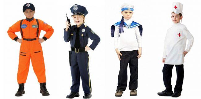 Профессиональные костюмы для мальчика