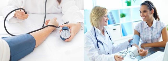 Измерение давления у беременных