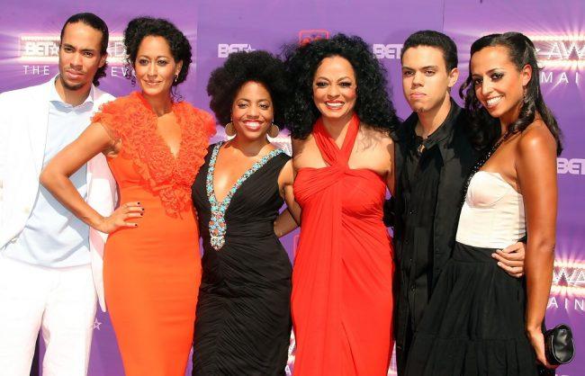 Дайана Росс и ее дети