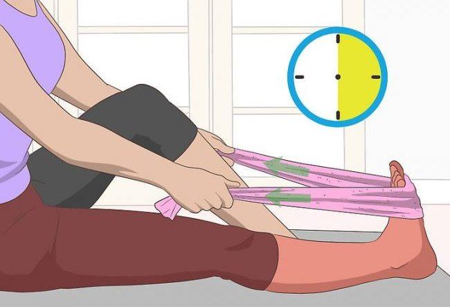 Упражнение при судорогах ног
