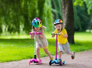 Трехколесные самокаты для детей от 2 лет