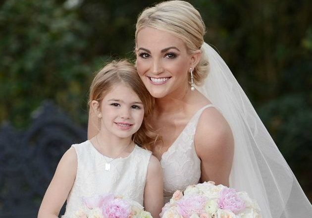 Джейми Линн Спирс с дочкой