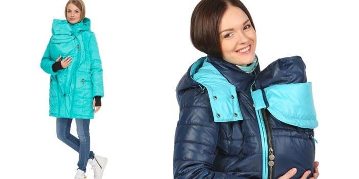 Куртка трансформер для беременной девушки