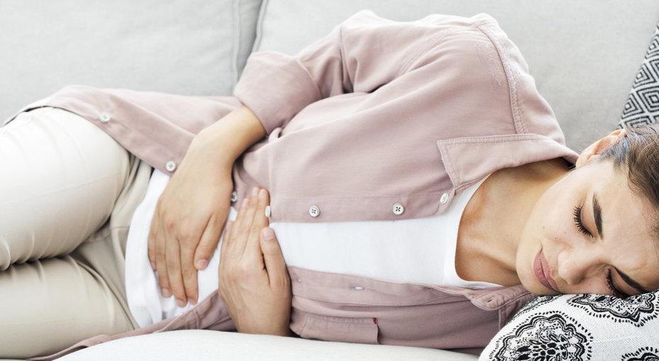 Спазм в животе у беременной женщины