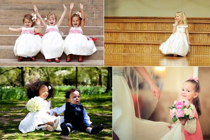 Фото детей на свадебном торжестве
