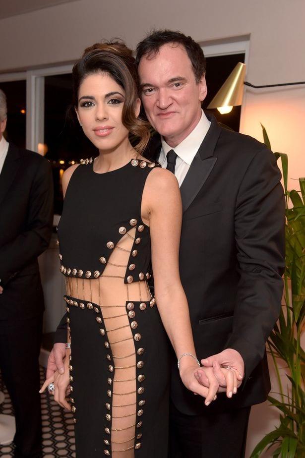 Тарантино и его жена Даниэлла Пик