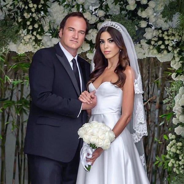Свадебное фото Квентина Тарантино