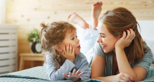 Разговаривайте с ребенком