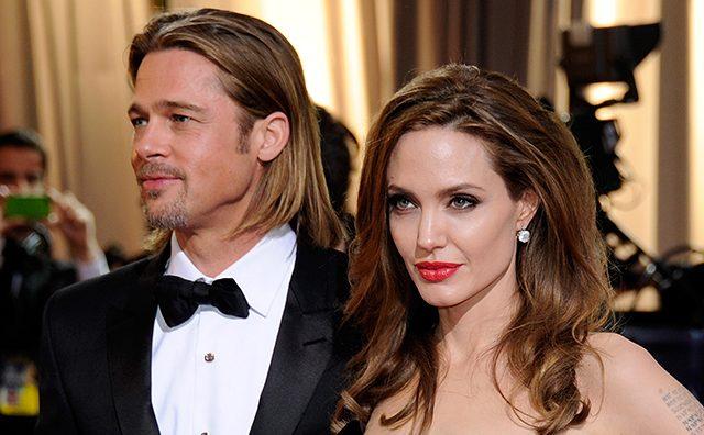 Брэд Пит и Анджелина Джоли