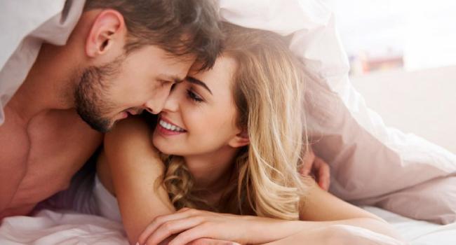 Муж и жена перед сном
