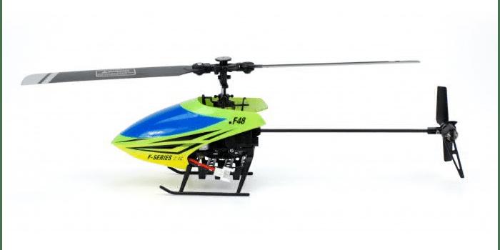 Маленький радиоуправляемый вертолет MJX F48 Shuttle RTF 2.4 GHz
