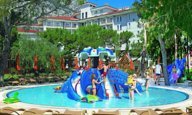 Детский бассейн в отеле Akka Alinda Hotel