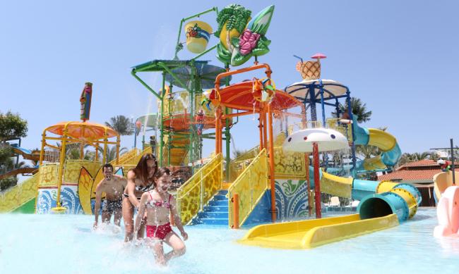 Детский акапарк в Paloma Grida Resort & Spa