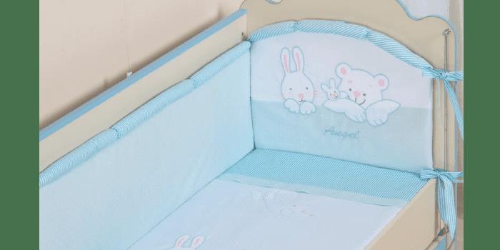 Бортики для детской кроватки Ангел