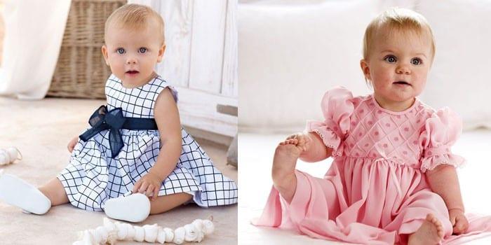 Малышки в платьях