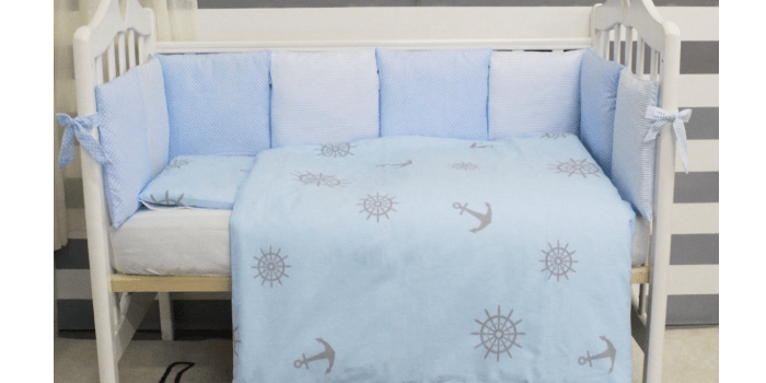 Бортики для детской кроватки Бриз от компании Twinz