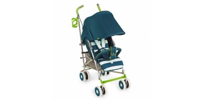 Складная детская прогулочная коляска-трость Happy Baby Cindy Marine