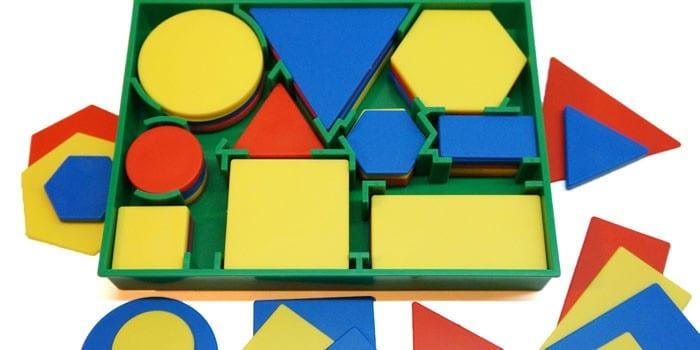 Логические блоки Дьенеша и карточки