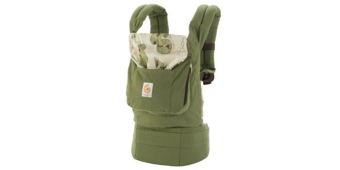 Эргономический рюкзак для переноски детей Ergo baby Carrier, серия Organic Cotton Fabric