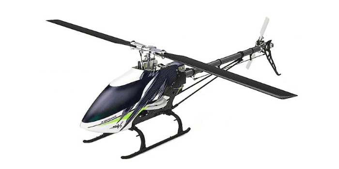 Радиоуправляемый игрушечный вертолет Thunder Tiger MTitan E360 FBL BNF-4717-A13