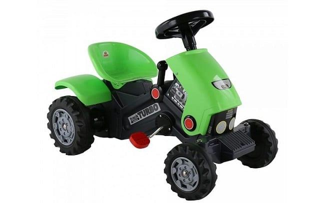 Машина с педалями Полесье Turbo