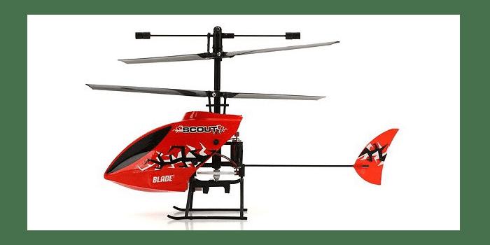 Игрушечный вертолет на пульте управления Blade Scout CX 3CH 2.4G-BLH2700