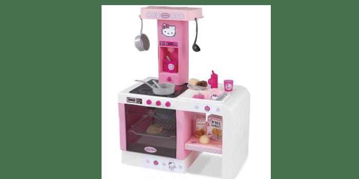 Игрушечный кухонный модуль MiniTefal Cheftronic Hello Kitty Smoby