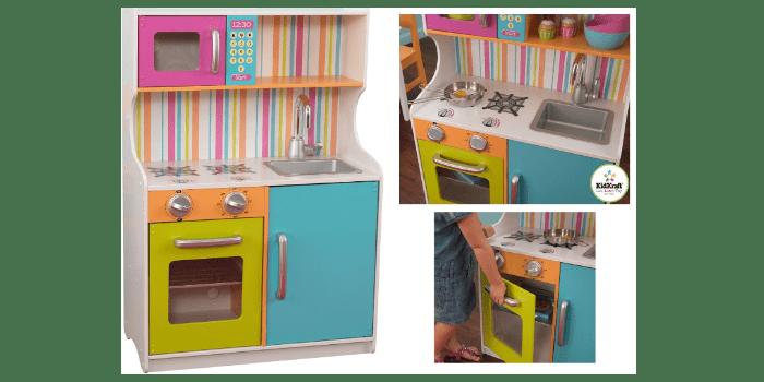 Игрушечный кухонный гарнитур Делюкс Мини KidKraft