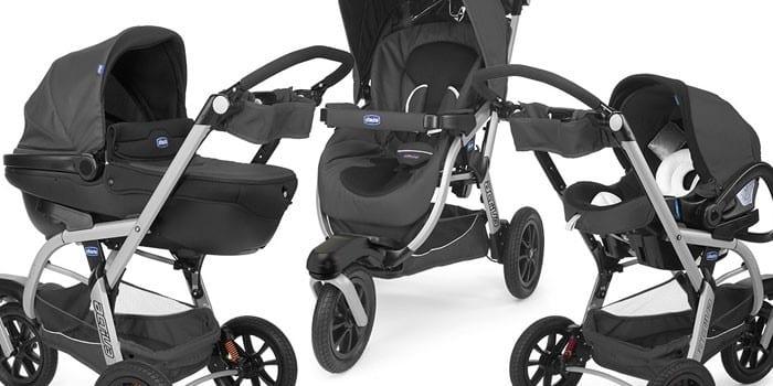 Трехколесная коляска Chicco Activ 3