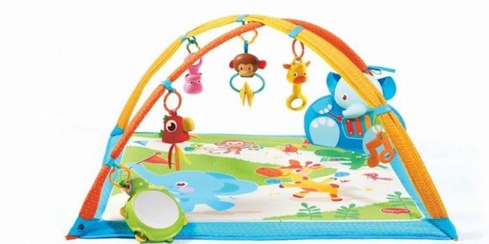 Игровой коврик для грудных детей Tiny Love Мои музыкальные друзья