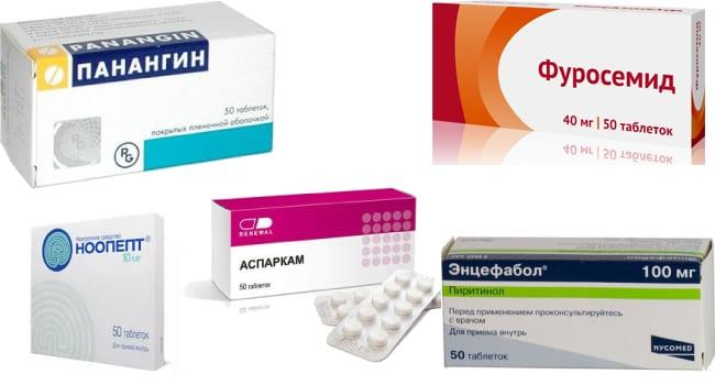 Препараты для лечения гидроцефалии