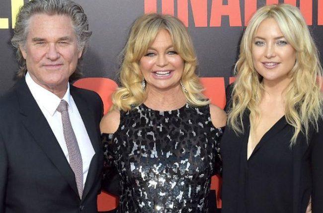 Кейт Хадсон и ее родители