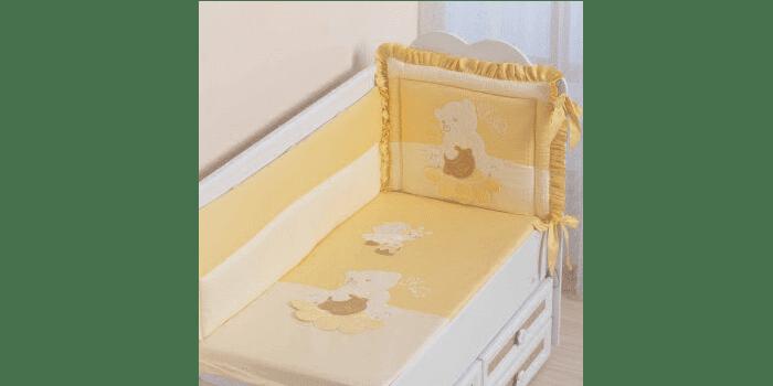 Бортики для кроватки новорожденного Пасечник