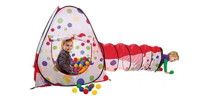 Детская игровая палатка с тоннелем Calida Конус